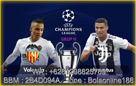 Valencia Vs Juventus 20 Sep 2018