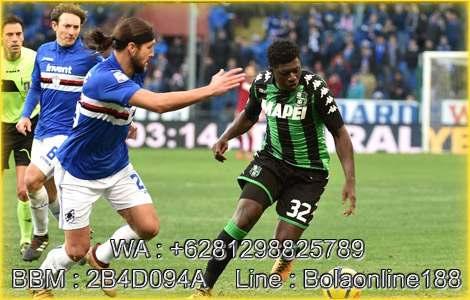 Prediksi Sampdoria vs Sassuolo 23 Okt 2018
