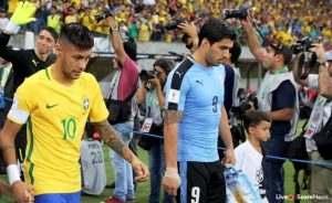 Prediksi Skor Brazil Vs Uruguay 17 November 2018