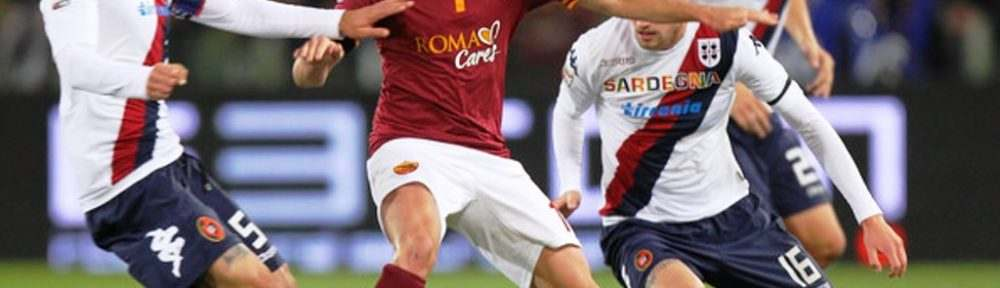 Prediksi Skor Cagliari vs AS Roma 9 Desember 2018
