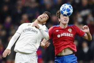 Prediksi Skor Real Madrid Vs CSKA Moskva 13 Desember 2018