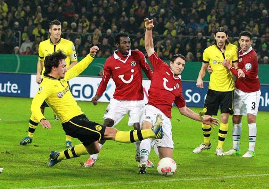 Prediksi Skor Dortmund vs Hannover 26 Januari 2019
