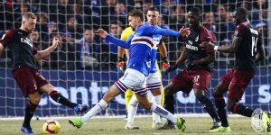 Prediksi Skor Sampdoria vs AC Milan 31 Maret 2019