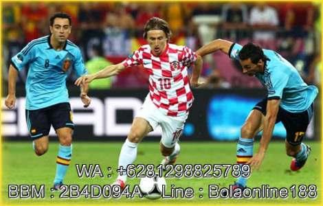 Spanyol Vs Kroasia 12 Sep 2018