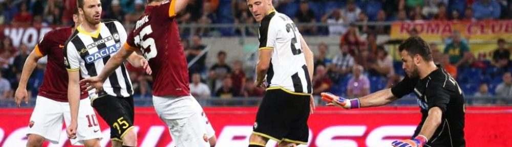 Prediksi Skor Udinese VS AS Roma 24 November 2018