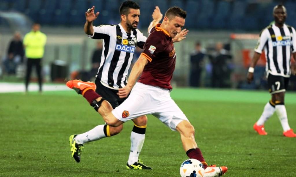 Prediksi Skor AS Roma Vs Udinese 13 April 2019
